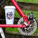 Personalised Bike Gears Travel Mug