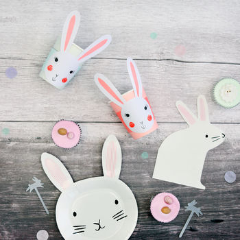 Bunny Rabbit Party Tableware Bundle