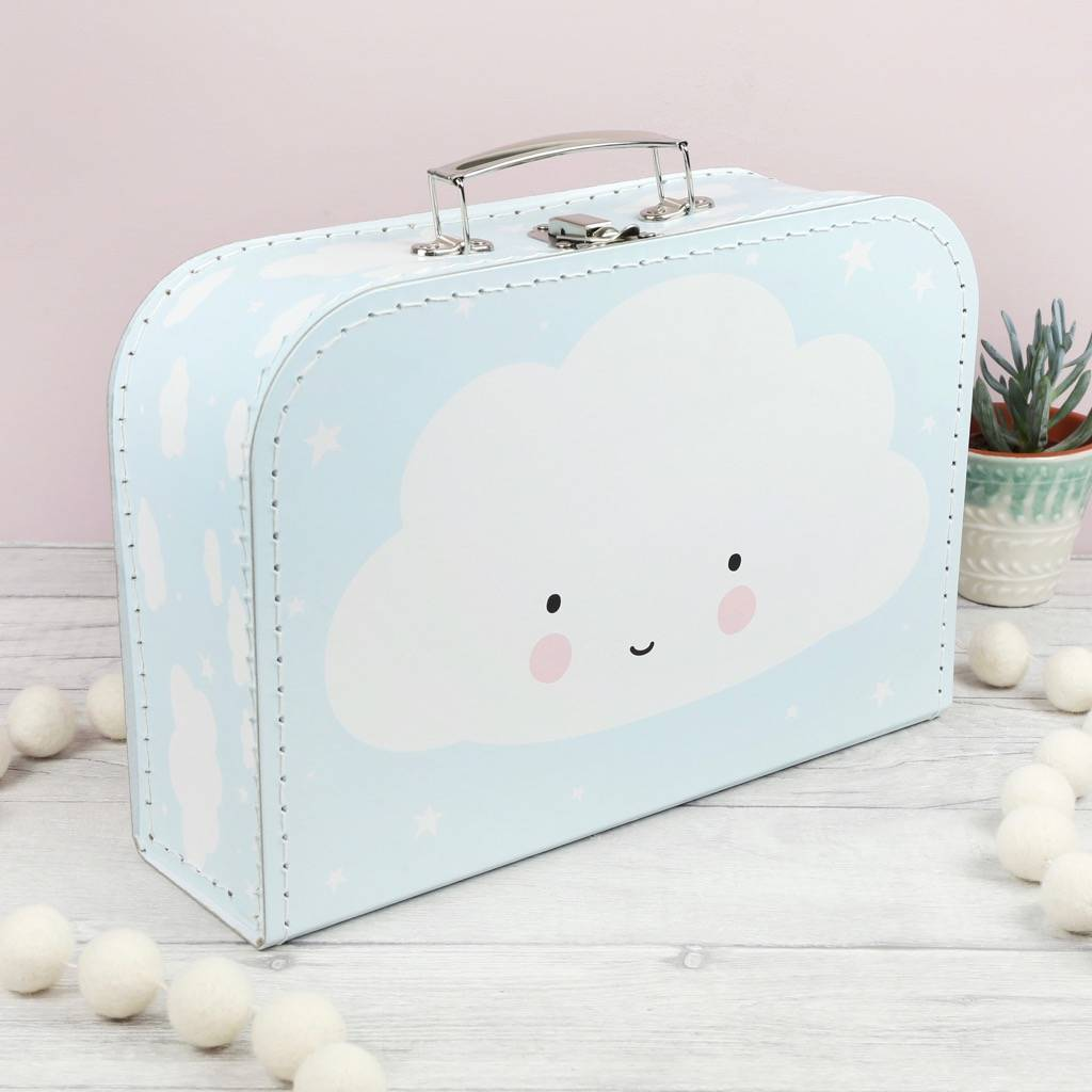 Cute Cloud Suitcase