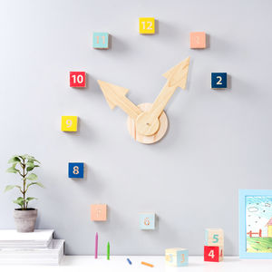 Number Block Clock - clocks