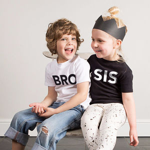'Bro' T Shirt - gifts for families