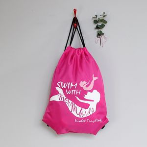 Personalised 'Mermaid' Childrens Swimming Bag - bags, purses & wallets