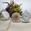 Family Crest Personalised Pocket Watch