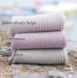 Cashmere Bed Socks - new lines added