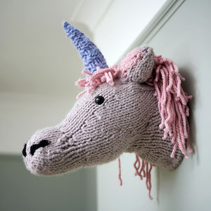 Make Your Own Faux Unicorn Knitting Kit - unicorns