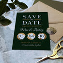 Full Colour Scratch Off Wedding Save The Date