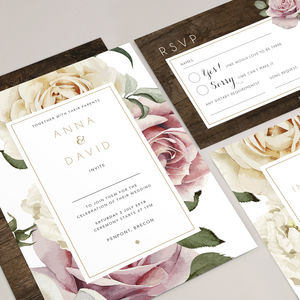 Wedding Stationery The Anna Collection - invitations
