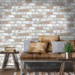 King Street Brick By Woodchip And Magnolia - wallpaper