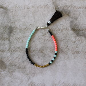 Children's Tassel Bracelet - charms, charm bracelets & necklaces