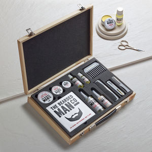 'Master Collection' Wooden Beard Kit