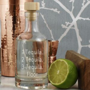 Funny Tequila Decanter