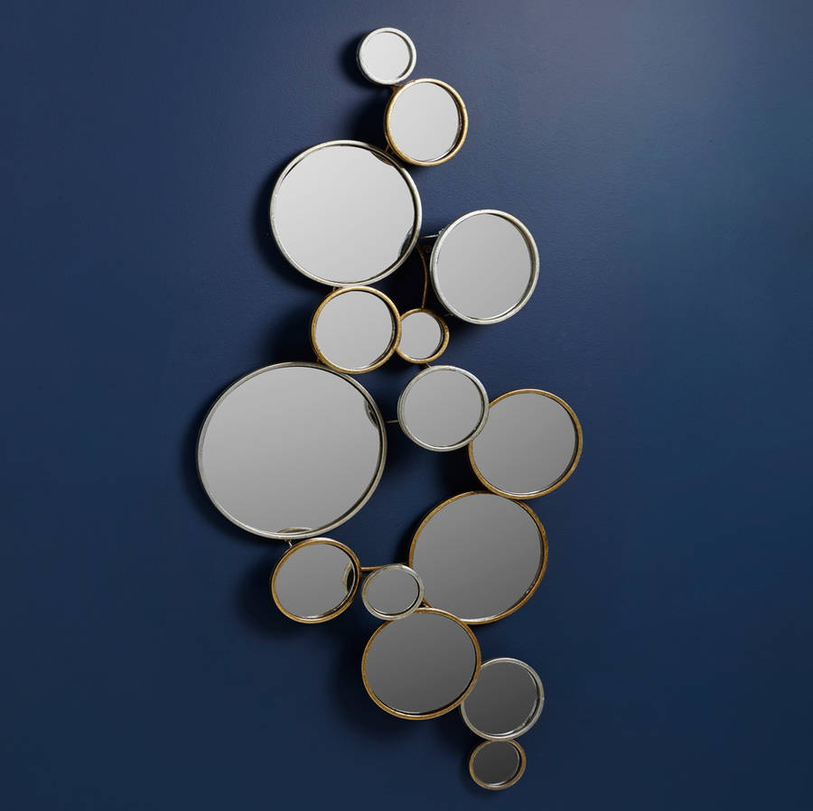 Circles Wall Mirror By Lime Lace Notonthehighstreet Com