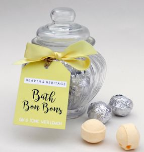 Gin And Tonic Bath Bonbons