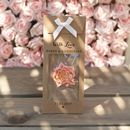 Personalised Chocolate Roses Wedding Gift Favours