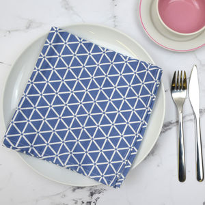Set Of Four Karin Napkins - table linen