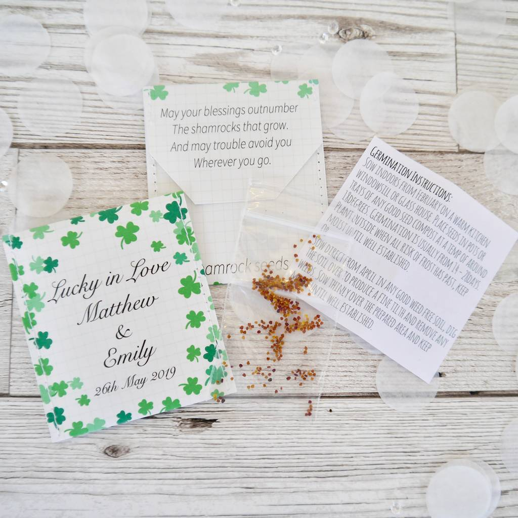 Fancy Irish Wedding Favors Ideas Festooning - Wedding Dress ...