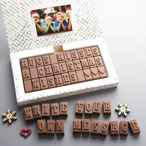 Personalised Chocolate Gift 33 Letters - chocolates & confectionery