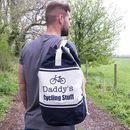 Personalised Cycling Colour Duffle Bag