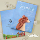 Personalised Grandad Book 'Because Of You'
