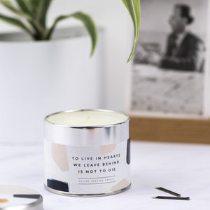 Bereavement Sympathy Candle - 'thinking of you' gifts