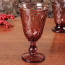 Set Of Four Ambiance Amethyst Goblets