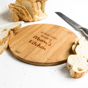 Personalised The Best Things Are Made Chopping Board