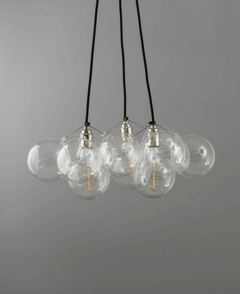 Bubble chandelier light three point by dowsing reynolds bubble chandelier light three point aloadofball Images