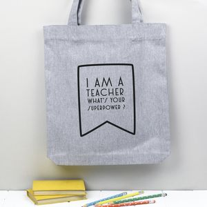 Tote Bag End Of Year Teacher Gift