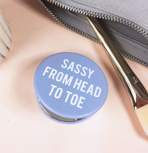 Sassy From Head To Toe Mirror - gifts for her
