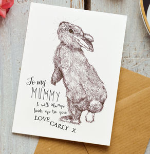 Personalised To My Mummy Card