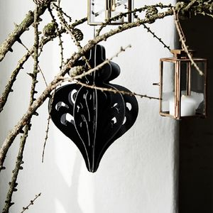Black Gothic Folding Hanging Decoration - home accessories