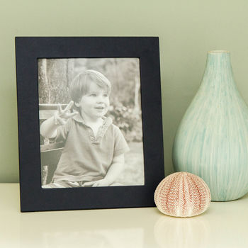 Personalised Leather Photo Frame Seven X Five