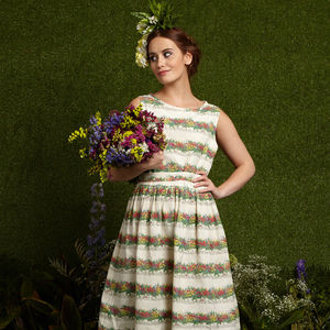 Mabel Flowerpots Dress