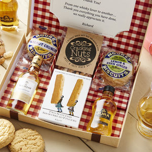 Whisky Lovers Letter Box Hamper - drinks hampers