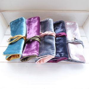 Velvet Jewellery Roll - storage & organisers