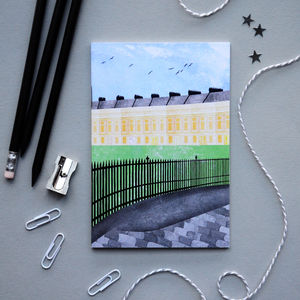 Bath Royal Crescent Notebook - writing