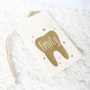 'Tooth Fairy' Personalised Bag - children's room accessories