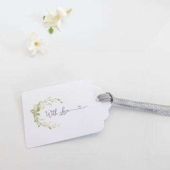 Wedding Favour Tags With Love