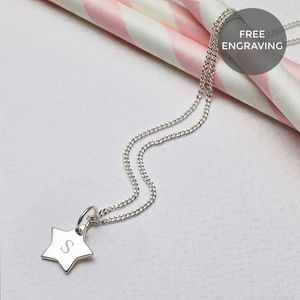 Personalised Little Wish Star Necklace