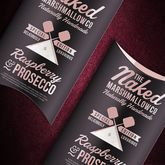 Raspberry And Prosecco Gourmet Marshmallows - chocolates & confectionery