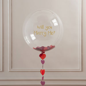 Will You Marry Me? Balloon - outdoor decorations