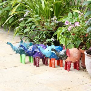 Elephant Watering Can - gardener