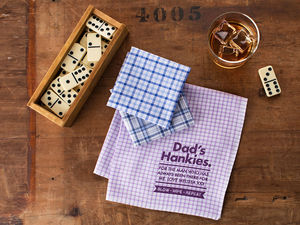 Best Dad Personalised Message Handkerchiefs - handkerchiefs