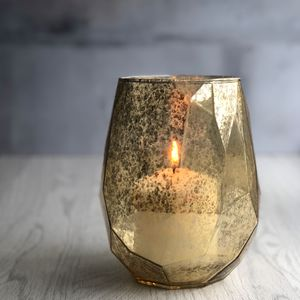 Abstract Glass Candle Holder - home accessories