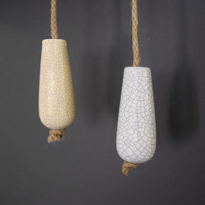 Ceramic Porcelain Bathroom Light Pulls - lighting accessories