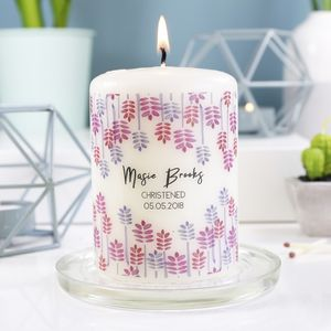 Christening Candle Gift For Boys And Girls - room decorations