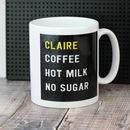 Pegboard Personalised Mug
