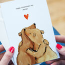 Personalised Bears Valentine's Card