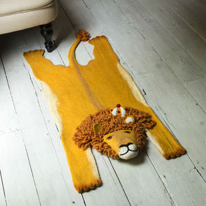 Leopold The Lion Rug - baby's room
