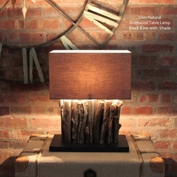 Oslo Driftwood Table Lamp